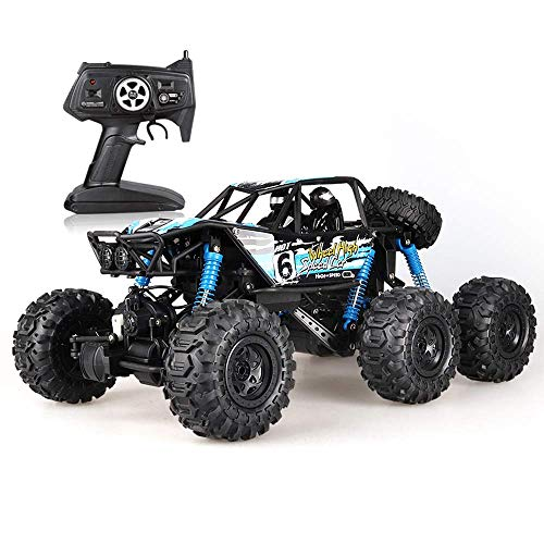 Control Remoto Cars Truck High Speed ​​Racing 24MPH Vehículo Todoterreno Radio Monster Dune Buggy Hobby Los Mejores Juguetes para niños y Adultos Escala 1: 8 4WD Rock Crawler Eléctrico con 2.4GHz 25M