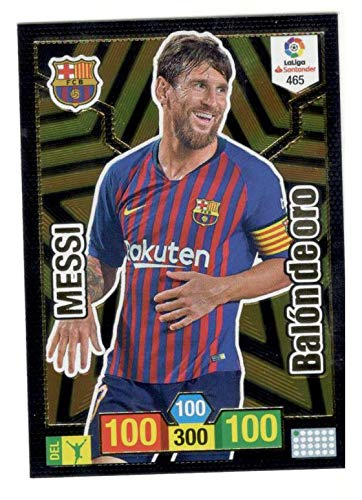 Panini Messi Balón de Oro Adrenalyn XL 2018 2019