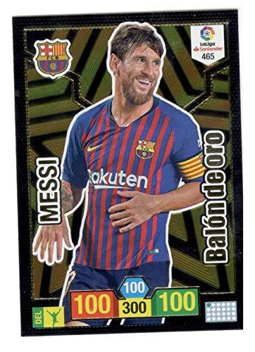 Panini Messi Balón de Oro Adrenalyn XL 2018 2019