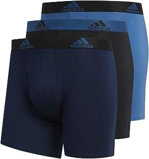 adidas Men's Stretch Cotton Boxer Brief (3-Pack)