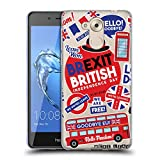 Head Case Designs Icons Brexit Soft Gel Case Compatible for