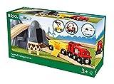 BRIO 33906 33906-Bahn Acht Tunnel Set mit Kuhwagen -