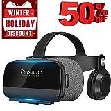 Pansonite Virtual Reality Headset with HD Glass Lens,Virtual Reality...