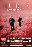Hurts - Surrender, Wiesbaden 2016 » Konzertplakat/Premium