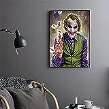 hetingyue Cavalier Klassische Clown Filmplakat Retro Dekoration Wandaufkleber Bar Cafe Dekoration...