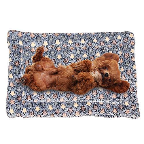 Phononey Pet Blanket Fleece Dog Cat Mat Soft Sleeping Supplies for Puppy Bed Crate Couch Mattress