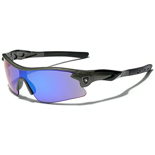 04de33ec67 Half Frame Kids Teen Age 8-16 Performance Baseball Cycling Running Sport  Sunglasses Color Mirrored