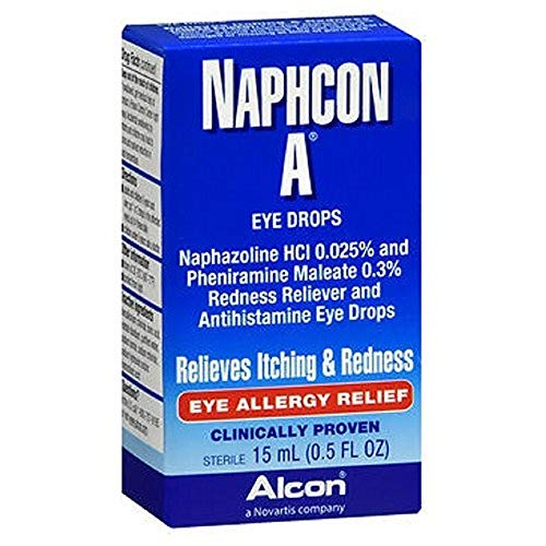 NAPHCON A Eye Drops, 15 ml (Pack of 3)