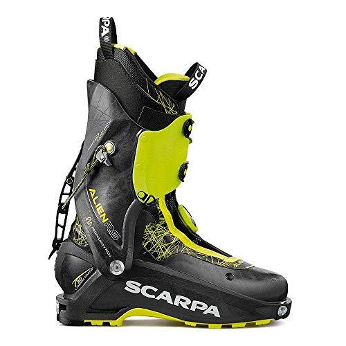 SCARPA Scarponi da Sci Alpinismo Alien RS, Carbon Black, 26.0