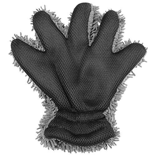 GORILLA 5-Finger Wearable wash mitt - Chenille Microfiber, Interior & Exterior Cleaning Glove for Car, Motorcycles, Windows, and Kitchen
