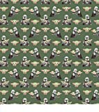 "Star Wars Fabric, The Child Cotton Fabric, Baby Yoda_1 Fabric, Cotton Fabric, Size: 1/4 Yard or Fat Quarter - 18"" X 22"""