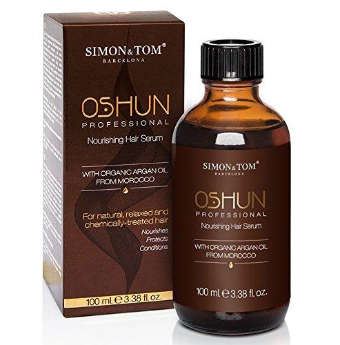Simon & Tom - Oshun Professionnel - Sérum réparateur multi-bénéfice pour cheveux frisés, frisés, afro,...