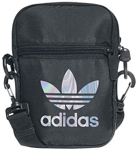 Adidas Festival Bag Trefoil Unisex Mochila Bandolera Multicolor, 100% poliéster,