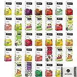 INSTICK | Zuckerfreies Instantgetränk - Mix-Paket mit 24 Geschmäckern | 24 x 1,5 Liter + Gratis Womanda...