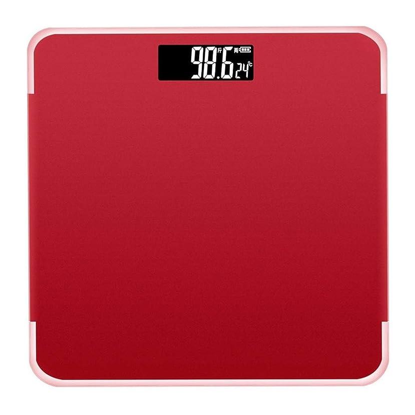独創的裁量メタルライン超精密デジタル体重計高精度センサー付き電子スケール高精度デジタルスケール、USB充電式機能スケール (色 : ローズゴールド)