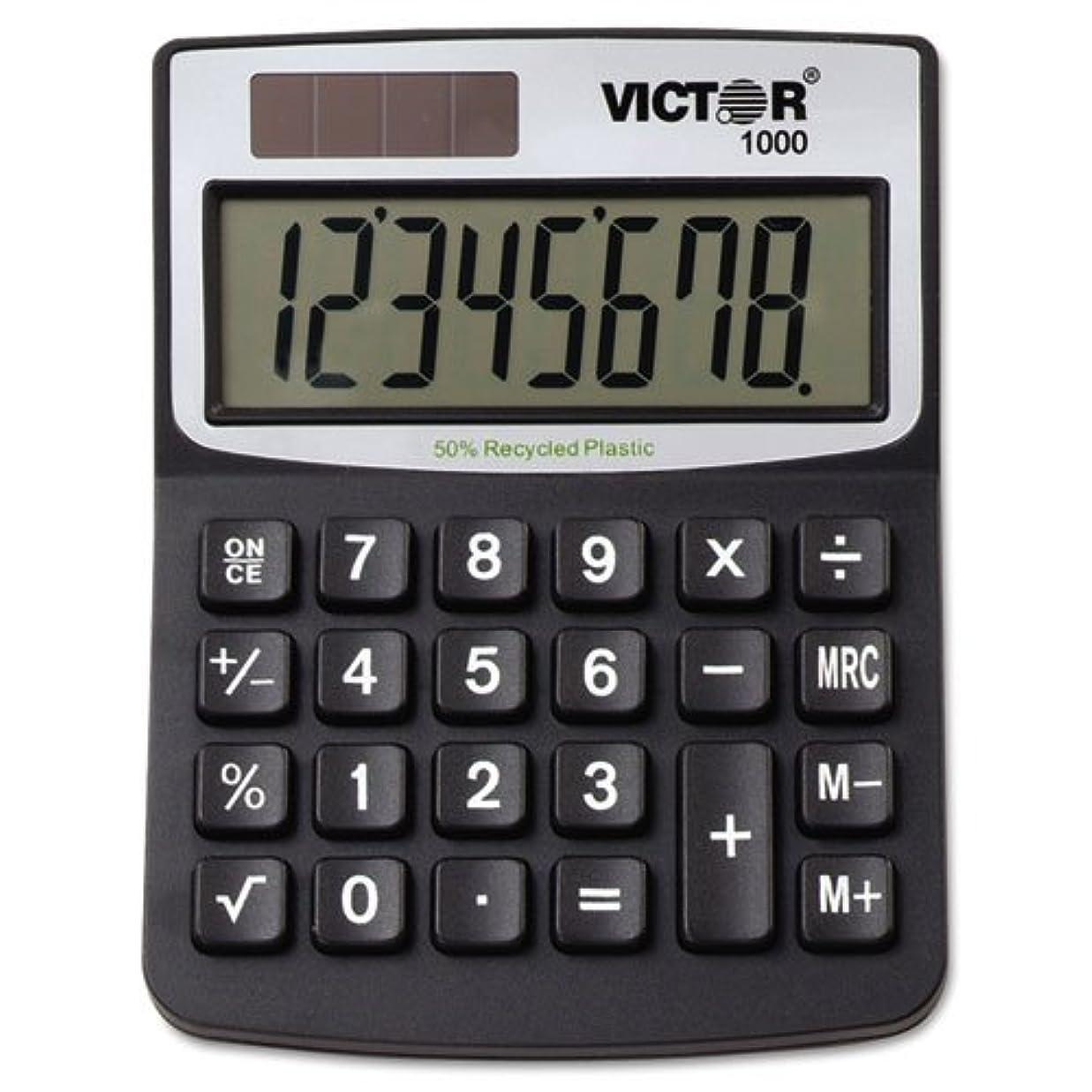 リットル湿気の多い参照するvct1000?–?Victor 11000ミニデスクトップ電卓