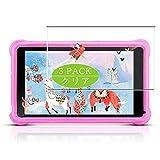 VacFun 3 Piezas Claro Protector de Pantalla, compatible con qunyiCO Y7 Kids Tablets 7', Screen Protector Película Protectora(Not Cristal Templado)