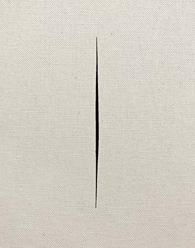 Lucio Fontana - On the Threshold