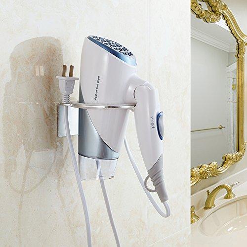 OLQMY-Bathroom Hairdryer Rack, Free Punching Toilet, Hair Dryer Holder, Wall Hanging Air Rack Rack