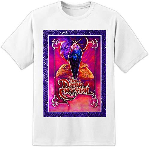 The Dark Crystal Retro Movie T Shirt Jim Henson Labyrinth Poster Classic Mens