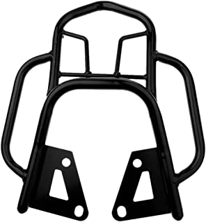 Motorcycle Luggage Rack 银色 Motorcycle Rear Luggage Rack Carrier Support Fits for XL883//1200 X48 Modified Parts Two Colors