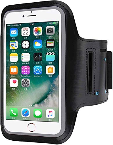 Ceuta Retails® Sports Armband/Arm Belt - Waterproof Hand Fitness Mobile Case for Running Jogging Sports & Gym Activities for iPhone/Vivo/Oppo/Samsung/Sony/Motorola/Xiaomi Redmi(Up to 5.7inch)