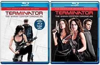 Terminator: The Sarah Connor Chronicles - Seasons 1 & 2 [Blu-ray]