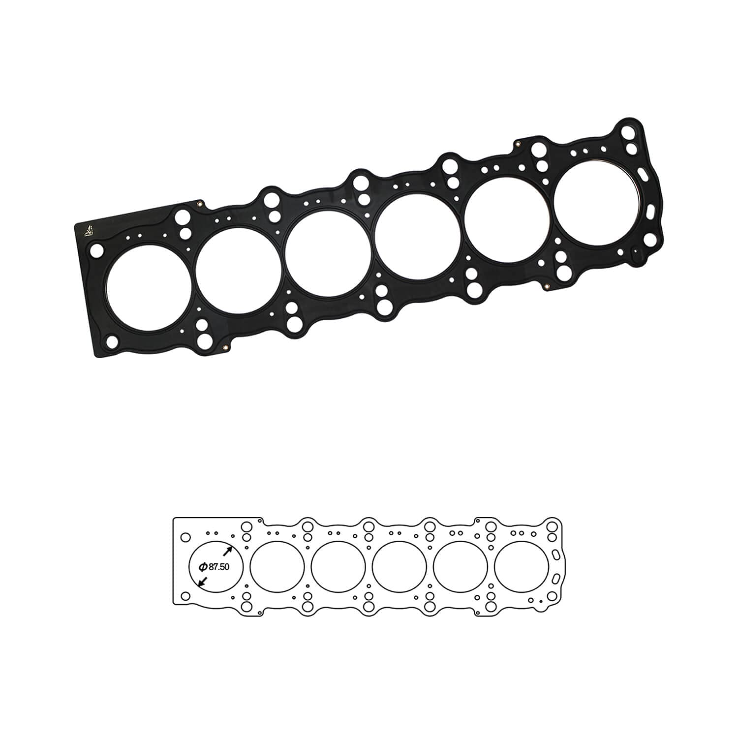 Siruda Cylinder Head Indefinitely Gasket Corrosion-Resistant Ranking TOP11 Multi-Layer with