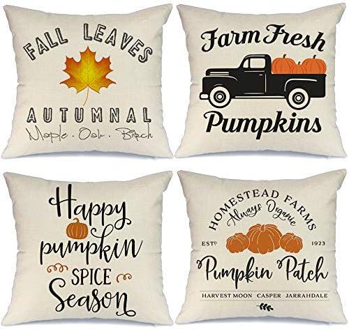 AENEY Fall Decor Pillow Covers 18x18 of Dallas Mall Set Decorati shipfree inch 4