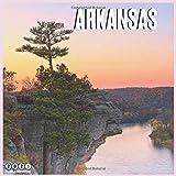 Arkansas 2021 Wall Calendar: Official Arkansas Travel Calendar 2021, 18 Months