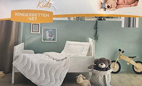 Kinderbetten-Set Bettdecke+Kissen 100 x 135 cm
