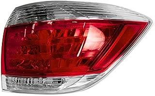 Taillight Lamp Right Hand Passenger Side RH for 11-13 Toyota Highlander US Built