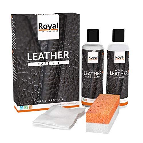 Royal - Lederpflege System Classic Leather Care Kit für alle Glattleder von Oranje
