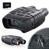 BNISE 7x31 Numerique Jumelles De Vision Nocturne - Camera Infrarouge Vision Nocturne avec 2.31' TFT LCD Écran et 32GB TF Carte Photo Caméra Vidéo Enregistreur pour Adultes Chasse