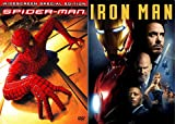 In The Beginning These Set The Table For The Marvel Universe: Spider-Man (2002 Widescreen Special Edition 2 Disc) + Iron Man Marvel Movie Bundle
