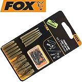 Fox Edges Surefit Lead Clip Kit - 5 Clips zum Karpfenangeln, Leadclip zum Angeln auf Karpfen,...
