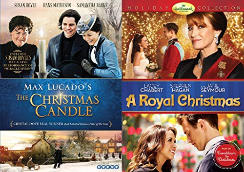 A Proper Royal Faith Filled Christmas: A Royal Christmas & Max Lucado's The Christmas Candle (Keep Christ In Christmas Special Edition 2 DVD Bundle)