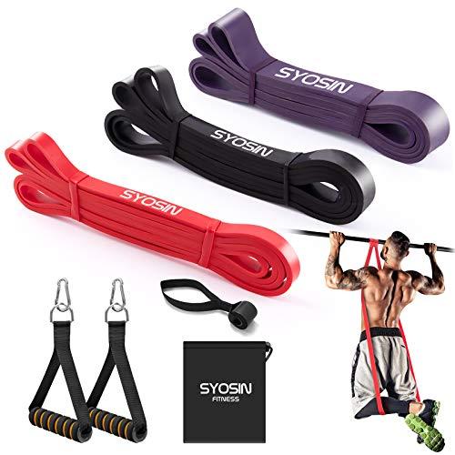 SYOSIN Fitnessbänder Pull-Up Resistance Band, Widerstandsbänder Gymnastikband für Krafttraining & Fitness Klimmzug und Muskelaufbau Pilate Crossfit Yoga