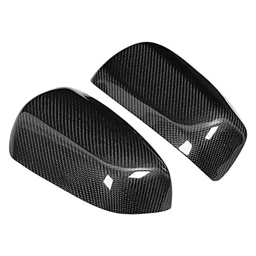 Carcasa Espejo Retrovisor para Mitsubishi para Lancer EX/EVO/X / 10 2009-2016 Cubierta Puerta Espejo Puerta Lateral Fibra Carbono Cubiertas Espejos Retrovisores Exteriores