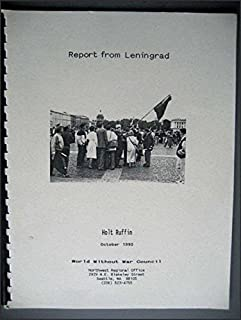 Report From Leningrad Human Rights Conference 1990