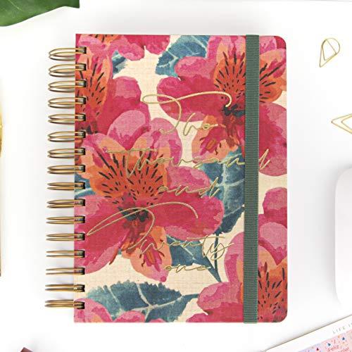 Agenda 2021 Rose - Día Página - 420 páginas - Tamaño A5-16 x 22 cm - Takenote Agendas