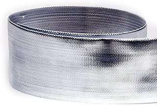 silver lame ribbon