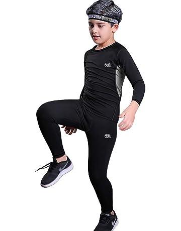 certificazione OEKO-TEX/® standard 100 manica e pantalone lunghi Icefeld/® Set di biancheria intima termica traspirante per bambini