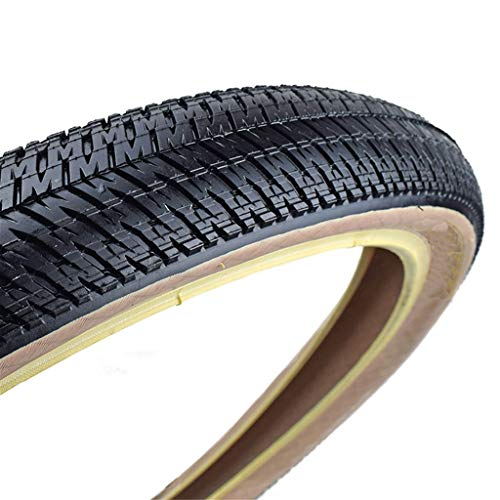 CZLSD Neumático de Bicicleta 26 * 2.15/2.3 MTB Street Bike Neumáticos de Bicicleta Fija Engranaje Ultraligero Ciclismo Plegable/sin neumático Plegable (Color : 26x2.3 Folding Beige)