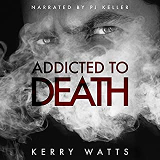 Addicted to Death audiobook cover art