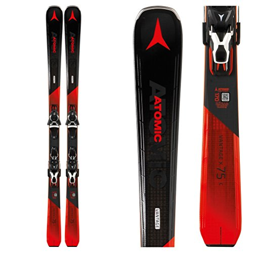 Atomic Vantage X 75 C Ski System with Lithium 10 Bindings Mens