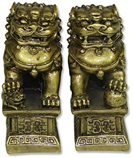 H-M SHOP Chinese Feng Shui Temple Lions Fu Dogs