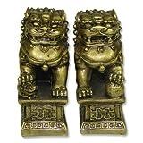H-M SHOP Feng Shui Templo Leones Fu Perros