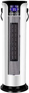 ZHHL Calentadores de ventilador, radiador eléctrico vertical para el hogar, tecnología de calentador de cerámica PTC, protección contra sobrecalentamiento, sincronización de 12 horas