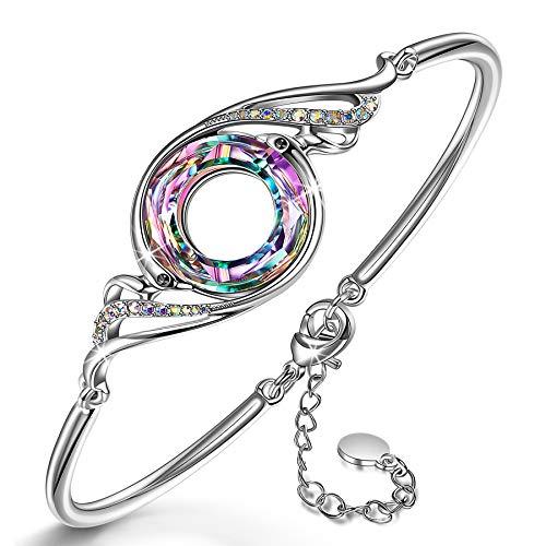 Kate Lynn Armband für Frauen, Phoenix Serie Armbänder Symbolisiert Glück und Ewigkeit, Schmuck Geschenke für Frauen/Her/Mädchen/Ehefrau/Mutter/Freundin, Schmuck-Box für Geschenke Enthalten